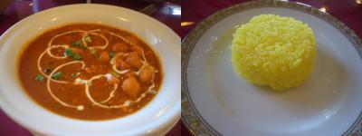 インド料理店 Fulbari(フルバリ)のミンチと豆のカレー