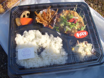 豆腐ハンバーグのお弁当