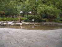 鶴舞公園の水遊び場