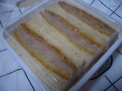 豚フィレカツサンド