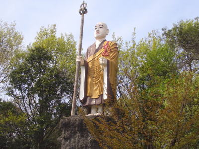 尾張旭市にある退養時の厄除弘法大師(新居の弘法さん)