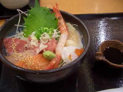 海鮮丼専門店鮪市場の海七丼