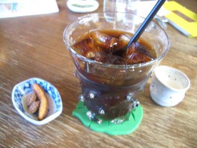 茶人館 ぶら坊のアイスコーヒー