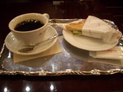 ブロッコロとブレンドコーヒー