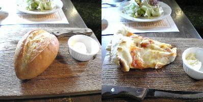 オールド・スパゲティ・ファクトリー藤ヶ丘店のパン・ピッツァ