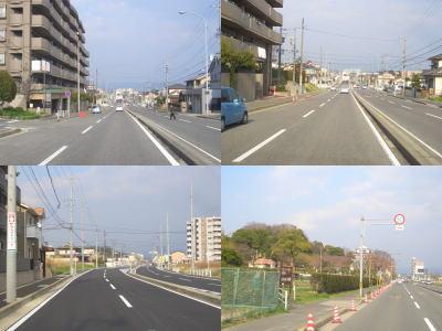 瀬戸市と尾張旭市を結ぶ街道の1つ城山街道