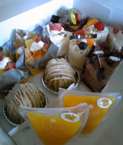 ケーキ・ゼリー各種