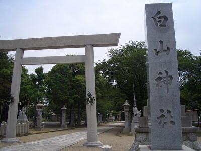 春日井市にある白山神社