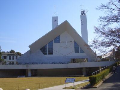 山口県にあるザビエル記念聖堂