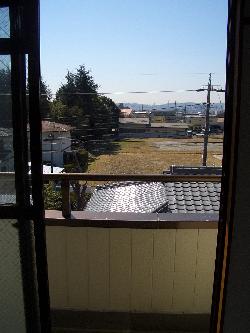下宿先から見える景色