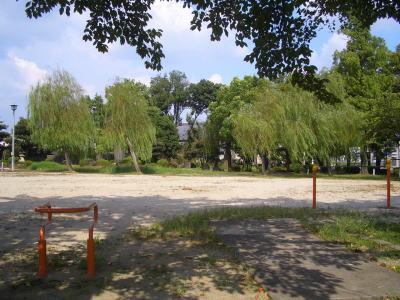 道風公園内の風景