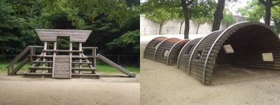 二子山公園の遊具