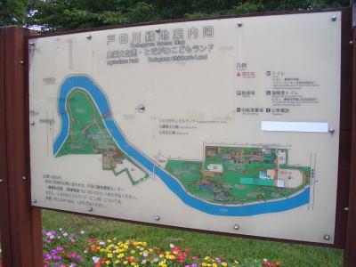 名古屋市中川区と港区にまたがる戸田川緑地