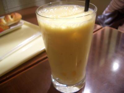 サンマルクカフェのミックスジュース