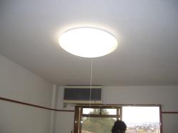 賃貸マンション プロファイブ不二の部屋の電灯