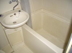 賃貸マンション プロファイブ不二の風呂