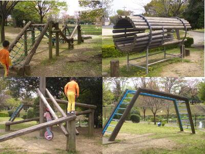 三ツ又ふれあい公園の遊具