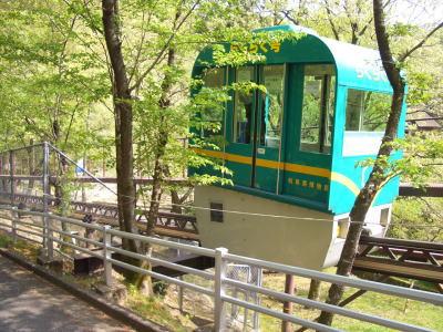 百年公園内にあるスロープカー