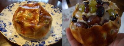 彩り豆パン