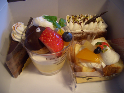 ケーキいろいろ