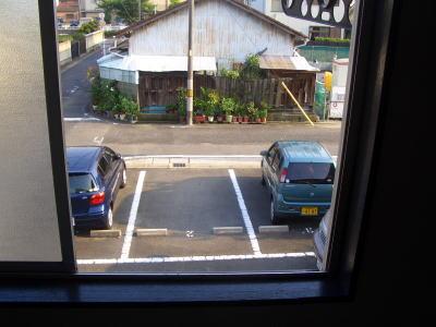 ハピネス稲生の窓から見える景色