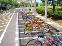 瀬戸市交通児童遊園の自転車