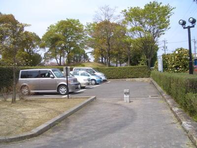 三ツ又ふれあい公園の駐車場
