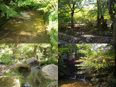 岩屋堂公園の景色