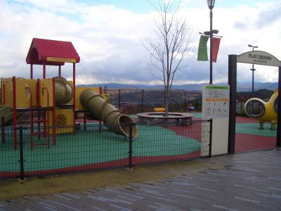子供の遊び場であるプレイグランド