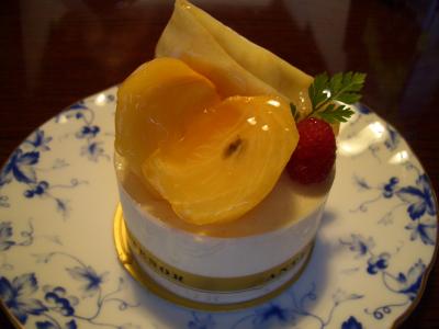 クレープ・フリュイ(柿)