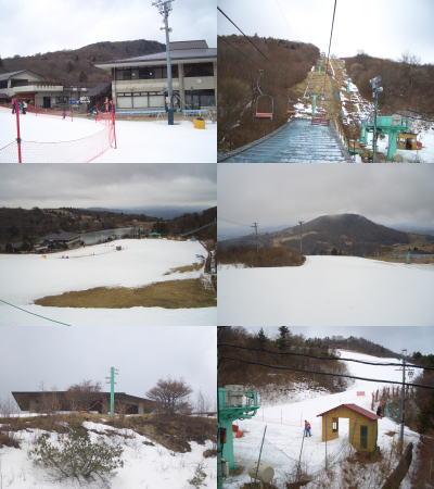 スキー場内の設備とコース
