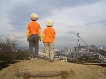 琵琶湖と子供達!