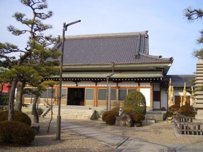 お寺の建物