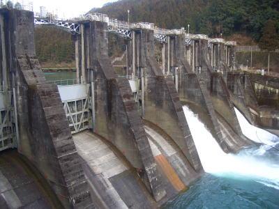 岐阜県下呂市にある下原ダム