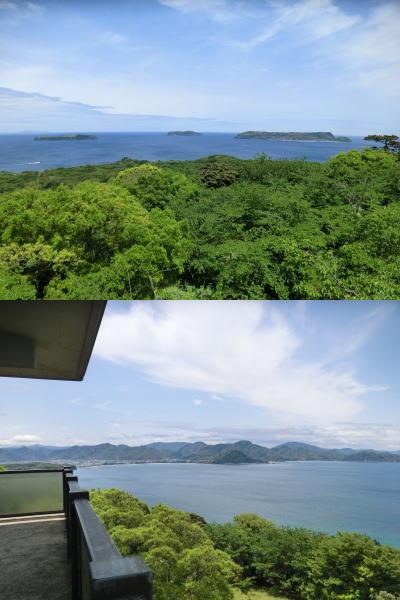 萩六島と呼ばれ美しい景色