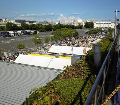 名古屋市東区にあるナゴヤドームでスマップコンサート