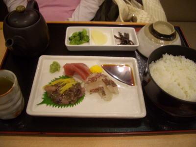 鯛と蛸の明石茶漬