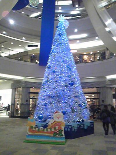 イオンナゴヤドーム前のクリスマスイルミネーション