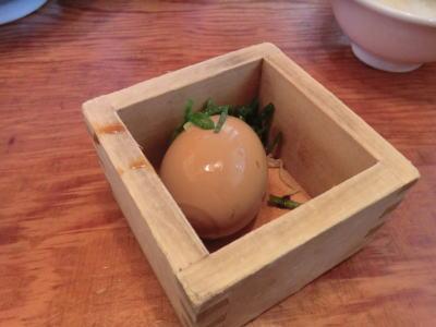 半熟 煮玉子
