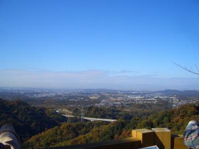 名古屋市・春日井市・瀬戸市が見渡せる景色