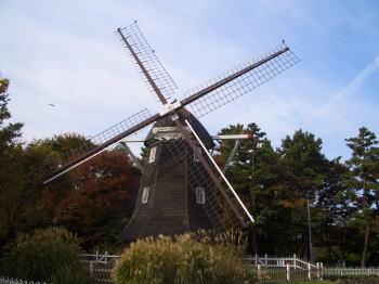 名城公園のオランダ風車