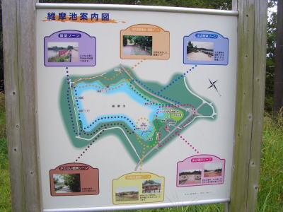 尾張旭市にあるお気に入りの公園!維摩池公園