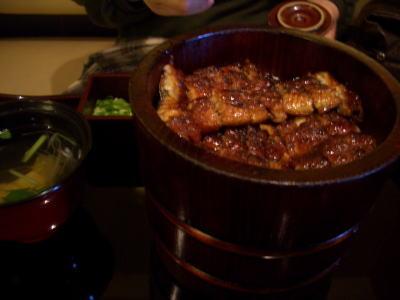 和食まるや本店の上ひつまぶしとお吸物膳