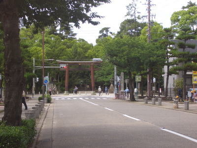 名古屋市中村区にある豊国神社