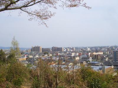 新居の弘法さんから見える景色