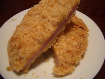お肉の専門店スギモトのハムカツ