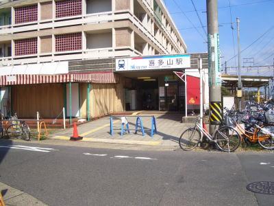 名古屋市守山区にある名鉄瀬戸線の喜多山駅