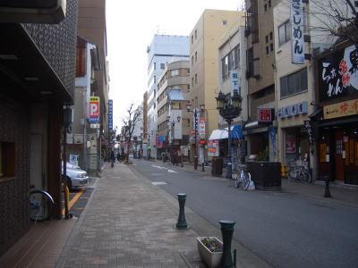 御園通商店街の風景