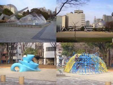 都市型公園の白川公園