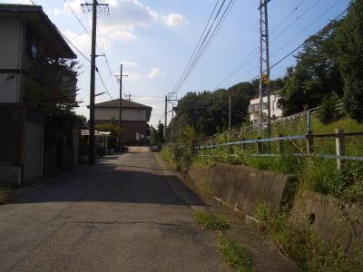 大森・金城学院前駅から先の路地を歩く